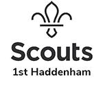 1st Haddenham Scouts Logo